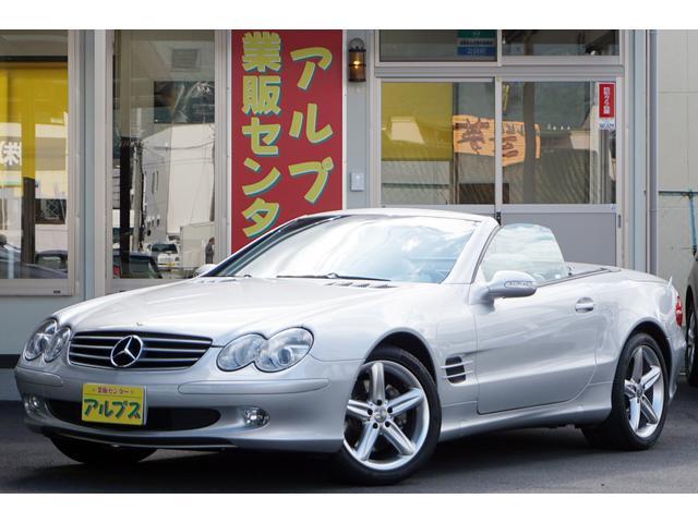 メルセデス・ベンツ SL SL500 左H 点検記毎年有 ベンチレ...