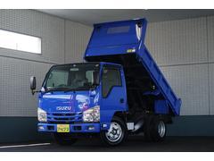 エルフトラック強化ダンプ 高床 3.0t ターボ ETC 三方開