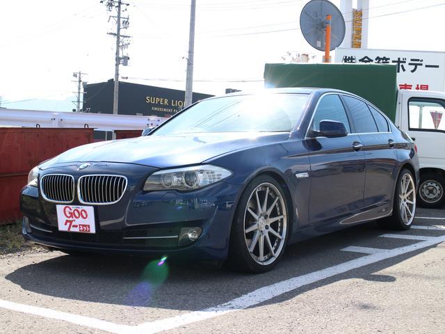 BMW 5シリーズ 528i 20インチアルミ スマートキー シー...
