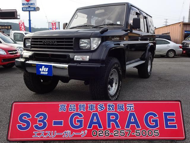 トヨタ SXワイド リフトアップ Dターボ 4WD SDナビ TV
