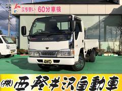 エルフトラックTキャブ 木製荷台 4WD