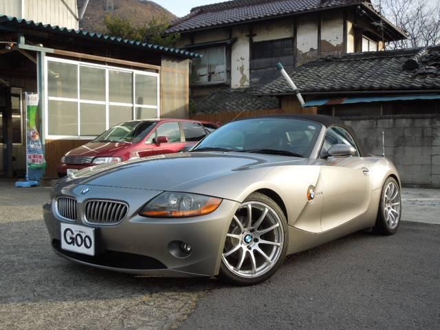 BMW 2.2i ローダウン 社外18インチAW 電動オープン