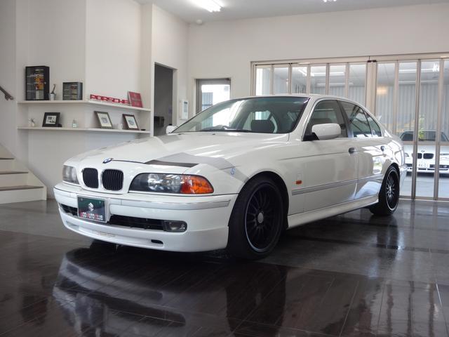 BMW 5シリーズ 525iハイライン 純正CDナビ パワーシート...
