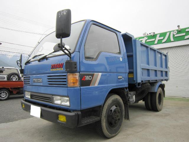 マツダ タイタントラック ダンプ  4WD ダンプ 高床 (検29.9)