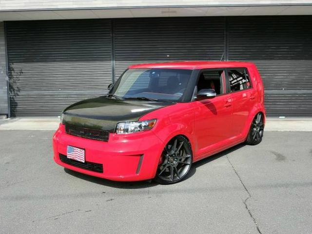 america toyota scion xb 2011 red 57 000 km details japanese used cars goo net exchange. Black Bedroom Furniture Sets. Home Design Ideas