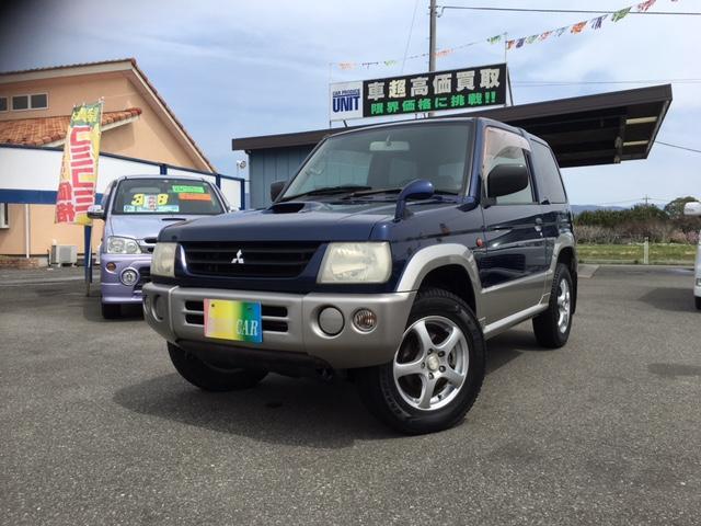 三菱 パジェロミニ V 4WD ターボ (車検整備付)