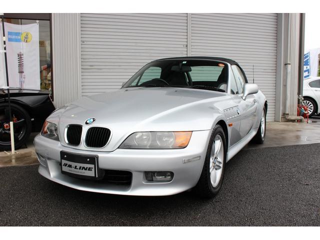 BMW Z3ロードスター 2.0 AT 社外CDデッキ ハーフレザ...