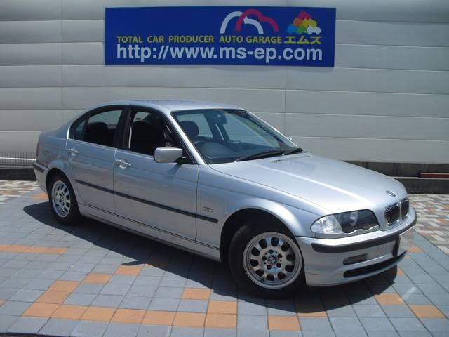BMW 3シリーズ 320i 純正アルミ 社外ナビ CDチェンジャ...