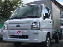 サンバートラック幌 4WD 5速MT キーレス AW カセット 新品夏タイヤ