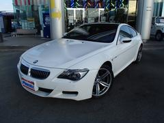 BMW M6SMGIIIカーボンルーフ純正HDDナビ黒革シートヒーター