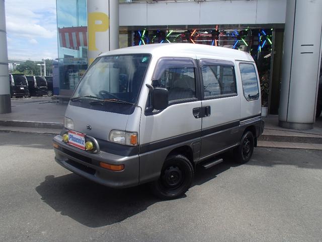 スバル ドミンゴ GV 4WD両側スライドWエアコン (なし)