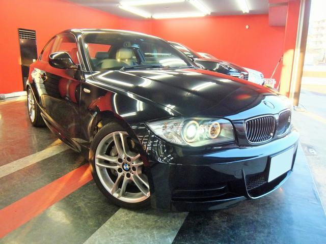 BMW 1シリーズ 135iサンルーフ黒革シートヒーター1オーナー...