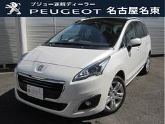 プジョー 5008シエロ 元試乗車 キセノン ガラスルーフ 新車保証継承
