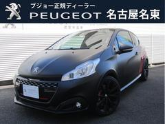 プジョー 208GTi By プジョースポール 6MT 新車保証継承