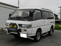 デリカスターワゴンエクシード クリスタルルーフ ディーゼルターボ4WD
