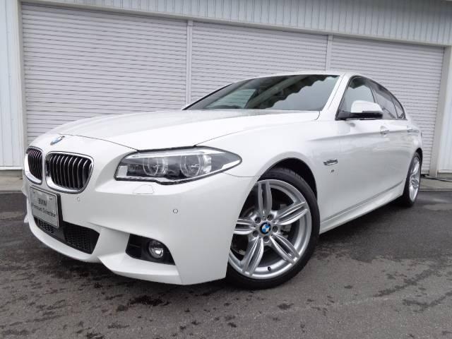 BMW 5シリーズ 523d MスポーツLED19AW1オナ禁煙認...