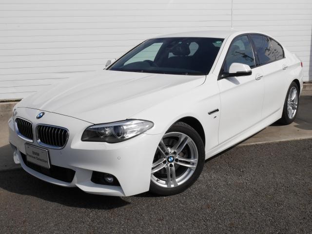 BMW 5シリーズ 523d Mスポーツ 当社ワンオナ黒レザ ウッ...