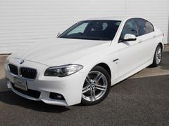 BMW523d Mスポーツ 当社ワンオナ黒レザ ウッド 認定中古車