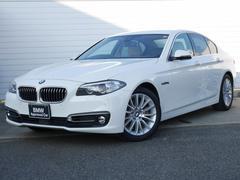 BMW523iラグジュアリー 1年AC1オナ禁煙認定車