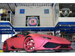 ランボルギーニ ウラカン正規ディーラー車 鍛造ホイール FIエキゾースト可変マフラー