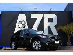 インフィニティ FX37新車並行車 デラックスツーリング カロッツェリアHDDナビ