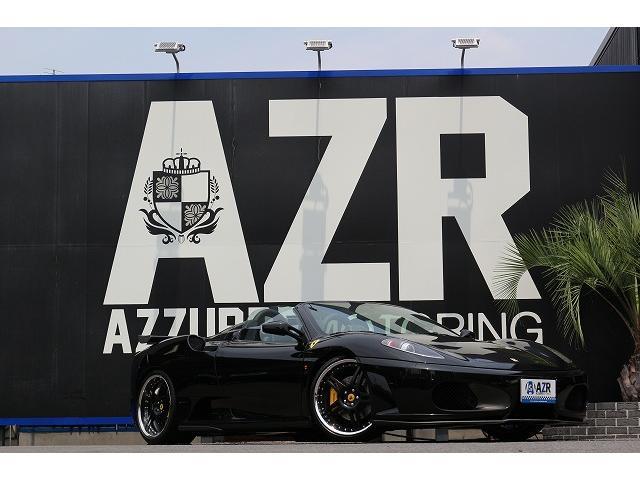 フェラーリ 正規ディーラー車 ノビテックフルエアロ イノテック可変マフラ