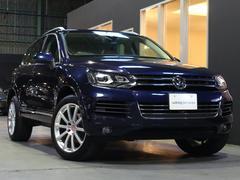 VW トゥアレグV6ブルーモーションテクノロジー ベージュ革 20AW 禁煙