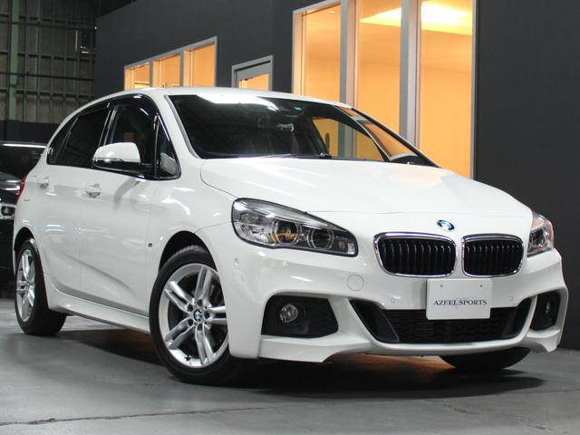 BMW 2シリーズ 218dアクティブMスポーツ ブラウン革 コン...
