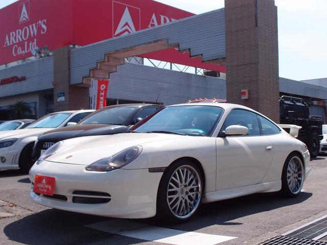 911カレラ GT3仕様 レザーシート 社外HDDナビ