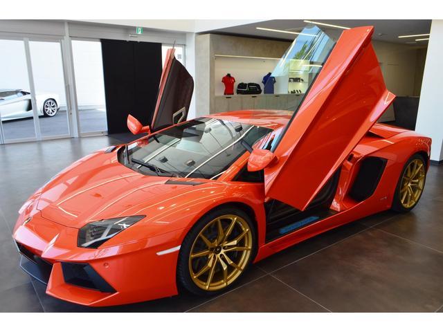 Lamborghini Aventador Lp700 4 2016 Orange 4 000 Km Details