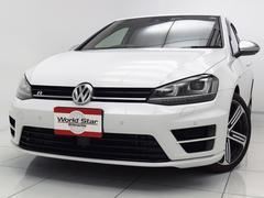 VW ゴルフRベースグレード HDDナビ地デジ 黒革スポーツシート