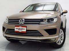 VW トゥアレグV6アップグレードパッケージ ナチュラルブラウンレザー