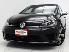 VW ゴルフRディスカバリープロ 黒革スポーツシート バックカメラ