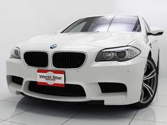BMWM5 OP20インチAW サンルーフ 黒革スポーツシート