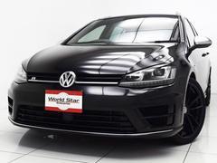 VW ゴルフRヴァリアントローンチエディション100台限定 Rロゴ ブルーストライプ