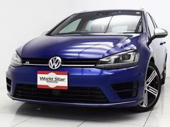 VW ゴルフRヴァリアントR専用エクステリア ディーラー新車保証付 1オーナー