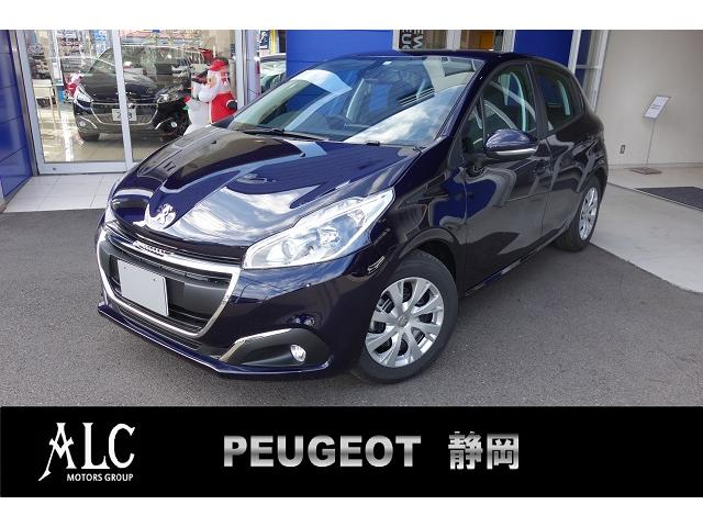 peugeot 208 style | 2018 | navy m | 60 km | details.- japanese used