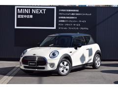 MINIクーパー3ドア LEDライト 純正ナビ 正規認定中古車