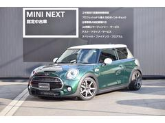MINIクーパーS3ドア ローダウン 6MT HUD 正規認定中古車