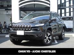クライスラージープ チェロキートレイルホーク 弊社デモカー 4WD 新車保証継承