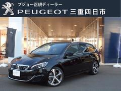 プジョー 308SW GT ブルーHDi 6AT 新車保証継承 ナビ ETC