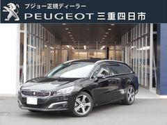 プジョー 508SW GT ブルーHDi 6AT 新車保証継承 ナビ ETC