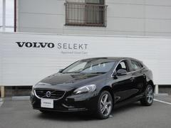 ボルボ V40D4 SE 登録済未使用車 テキスタイルシート 純正ナビ