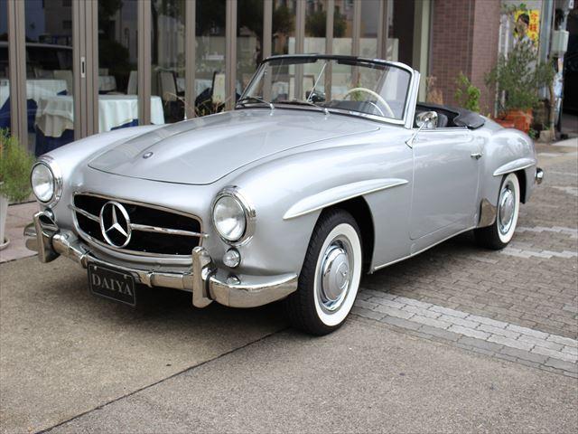 1956年式 ベンツ190SL 入庫しました!!入手困難な車になってしまいました190SL。入庫しました!!