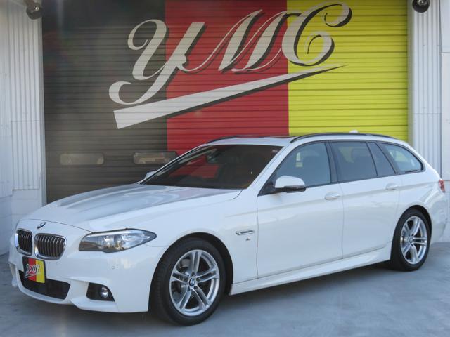 BMW 5シリーズ 523dツーリング Mスポーツ サンルーフ 純...