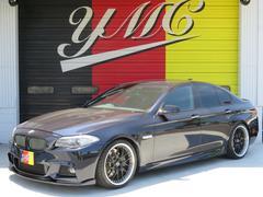 BMW523i MスポーツPKG ハーマンスポイラー KW車高調