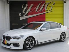 BMW740i Mスポーツ 新車保証 OP20AW Fスポイラー