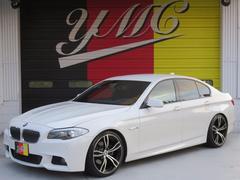 BMW528i MスポーツPKG 左ハンドル 20AW ローダウン