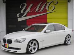 BMW750i アルピナ仕様 サンルーフ ベージュ革 OP21AW