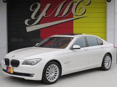 BMW750i 黒革 サンルーフ 純正HDDナビ 純正19AW